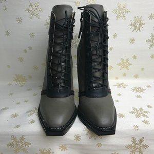 GX heeled boots
